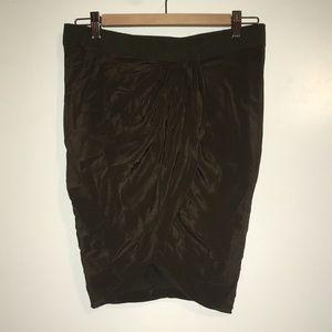 Isabel Marant silk tulip skirt